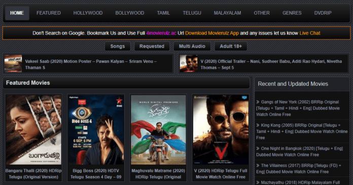 MovieRulz Download 300MB Telugu Movies Download Hindi Dubbed ?